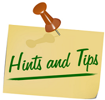 Hints and Tips Tips for Fetting FREE Stuff