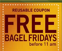 FREE Bagles at Noahs