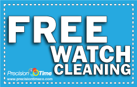 Free Watch Cleaning at PrecisionTime