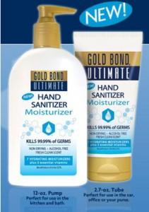 FREE Gold Bond Ultimate Hand Sanitizer Sample - Hunt4Freebies