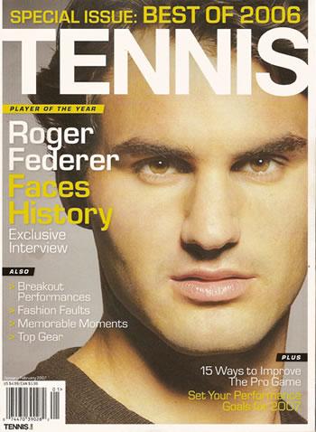 Tennis Magazine FREE Tennis Magazine 2 year Subscription