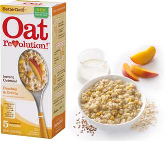 Better Oats Oatmeal FREE Carton of Better Oats Oatmeal
