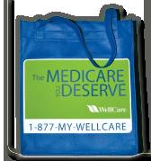 WellCare Tote Bag FREE WellCare Tote Bag
