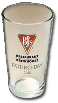 BJs Glass FREE Pint Glass For Dads at BJs Restaurant For Fathers Day