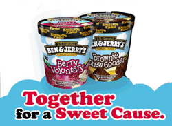 Ben and Jerrys FREE Ben & Jerrys Ice Cream at Target For Volunteering
