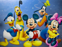 Disney Characters w200 h200 FREE Personalized Phone Call from Mickey and Pals