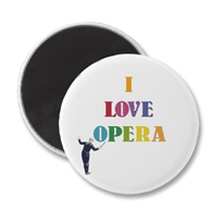 I Love Opera w250 h250 FREE I Love Opera Fridge Magnet