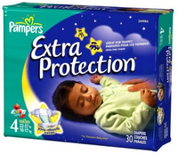 Pampers Extra Protection Diaper w200 h200 FREE Sample Of Pampers Extra Protection Diapers