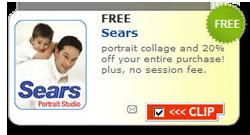 Sears Portrait FREE Portrait Collage at Sears Portrait Studio
