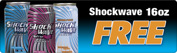 Shockwave FREE Shockwave Energy Drink at Speedway