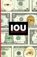 IOU Cover w200 h200 FREE IOU: New Writing on Money Book