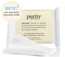 Philosophy FREE Philosophys Purity Facial Cleansing Cloths
