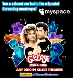 grease logo w250 h250 FREE Grease Sing A Long Movie Screening Tickets