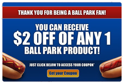 2 off Ball Park FREE Ball Park Franks at Jewel and Albertsons + More..