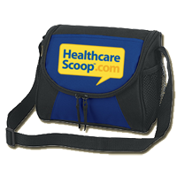 Healthcare Scoop insulated lunch tote FREE Healthcare Scoop Insulated Lunch Tote
