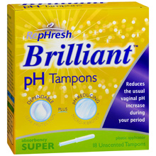Tampons w220 h220 FREE Full Size Box of RepHresh Brilliant Tampons