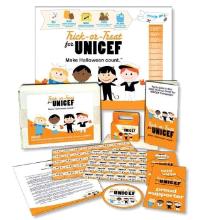 Unicef w220 h220 FREE 2010 UNICEF Fundraising Trick or Treat Kit