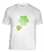 Limewire T Shirt FREE Save Limewire T Shirt