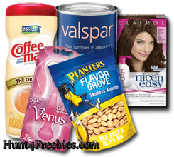 Freebies HOT FREE Stuff For This Week: Clairol, Coffee Mate, Planters + More