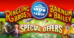 Ringling Bros and Bailey w240 h240 FREE Ringling Bros. and Barnum & Bailey Ticket for Babys First Circus