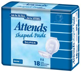 Attends Pads w270 h270 FREE Attends Briefs, Underwear or Pads Sample