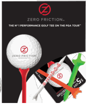 Zero Friction Tees FREE Full Pack of Zero Friction Golf Tees