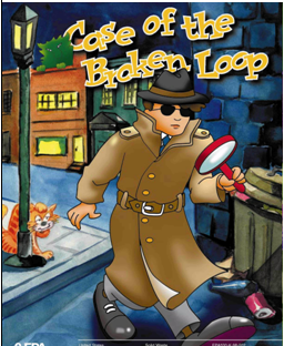 Case of the broken Loop Book 2 FREE Activity Coloring Books For Kids