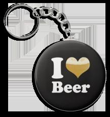 I Love Beer Key Chain FREE I Love Beer Keychain