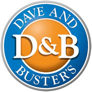 Dave and Busters FREE $10 in Game Play at Dave & Busters