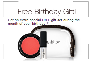 FREE Birthday Gift From SmashBox FREE Smashbox Gift Set For Your Birthday! (Updated)