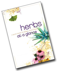 Herbs at a Glance FREE Herbs at a Glance Book