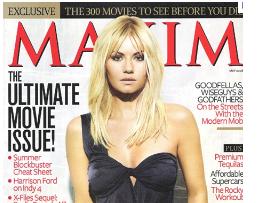 Maxim FREE Subscription to Maxim Magazine