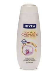 FREE Sample of Nivea Touch of Cashmere Cream Oil Body Wash - Hunt4Freebies