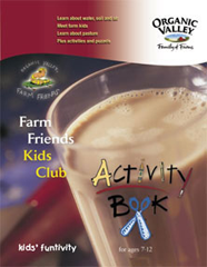 Organic Valley Activity Book FREE Organic Valley Kids Activity Welcome Kit, Sticker and Coupon Book