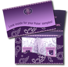 Poise Hourglass1 FREE Sample of Poise Hourglass Shape Liners