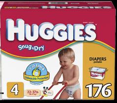 huggies snug and dry1 FREE Sample of Huggies Snug & Dry Diapers