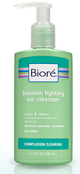 FREE Sample of Biore Blemish Fighting Ice Cleanser (Still Available) - Hunt4Freebies
