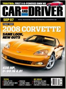 Car and Driver Magazine FREE Car and Driver Magazine Subscription