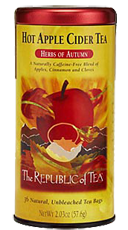 Hot Apple Cider Tea FREE Samples of Republic of Tea Free