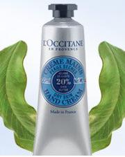 LOCCITANE FREE Loccitane Shea Butter Hand Cream Coupon