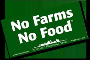 No Farms No Food Free Sticker