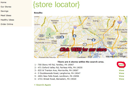 giant store locator