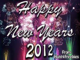 New Years 2012 Happy New Year 2012!!
