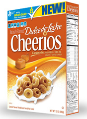 Dulce de Leche Cheerios cereal FREE Dulce de Leche Cheerios for Betty Crocker Members