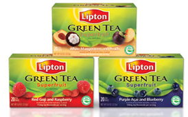Lipton Green Tea with Superfruit Flavors FREE Sample of Lipton Green Tea with Superfruit Flavors