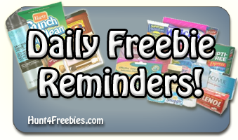Daily Freebies FREE Stuff Reminders Daily and Ongoing Freebies
