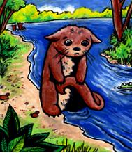 Otto Otter Coloring Book FREE Otto Otter Coloring Book