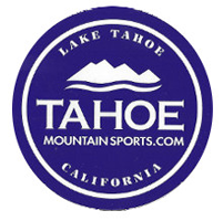 Tahoe Mountain Sports Sticker FREE Tahoe Mountain Sports Sticker