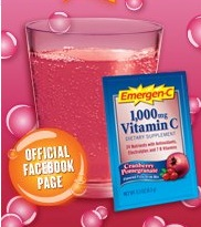 Emergc  FREE Emergen C Sample Packs