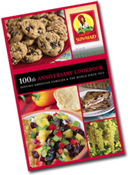 Sun Maid 100th Anniversary Cookbook FREE Sun Maid 100th Anniversary Cook Book